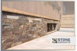 Andesite cut stone